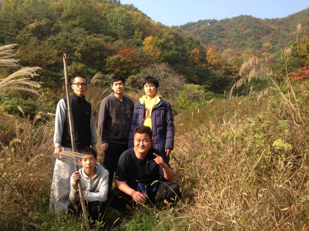 Mountain Hiking on Mount Hamwolsan